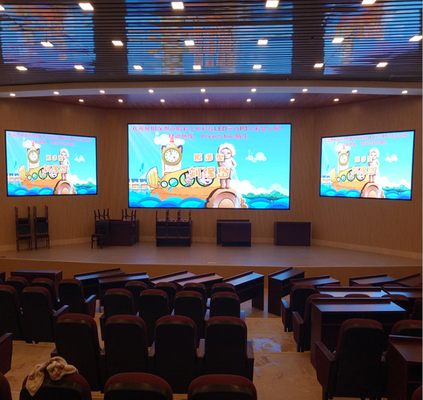 binnen led video wall